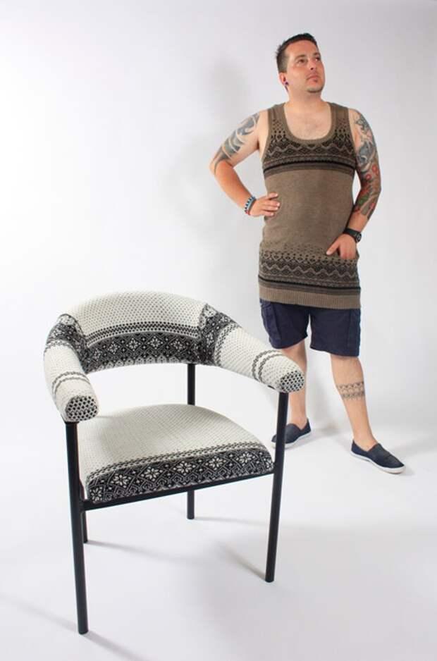 Зимние стулья (подборка)