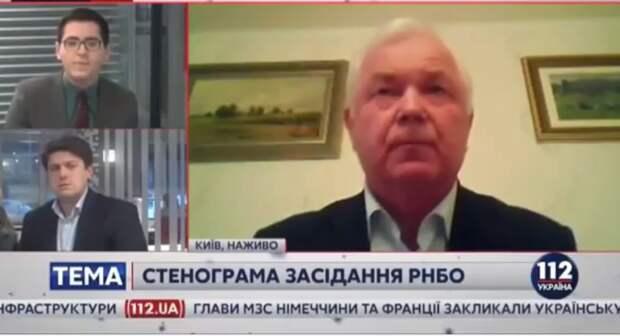 Глава СВР Украины дал интервью в трусах (видео)