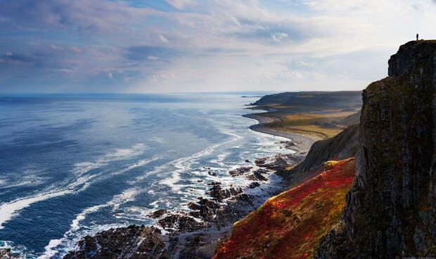 Виды полуострова Рыбачий: 11 фотографий Дмитрия Чистопрудова