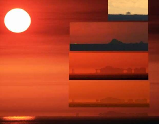 Мираж – галлюцинация или реальное явление?