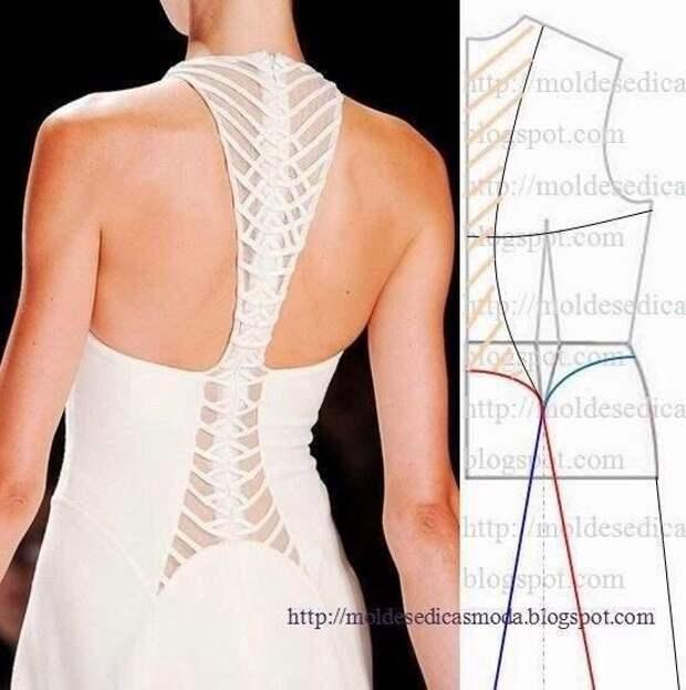 Моделирование оригинальной спинки: очень много вариантов 6