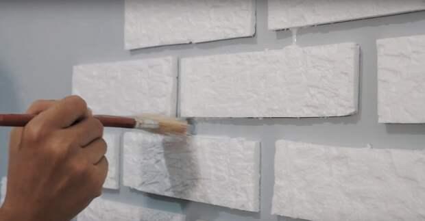Необычная и простая техника оформления стены за копейки