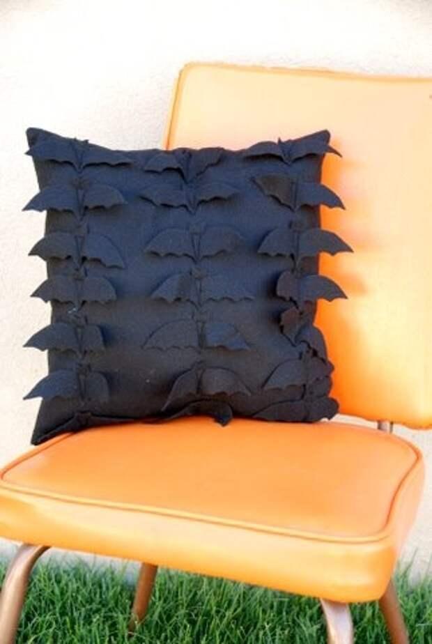 Хеллоуинская подушка