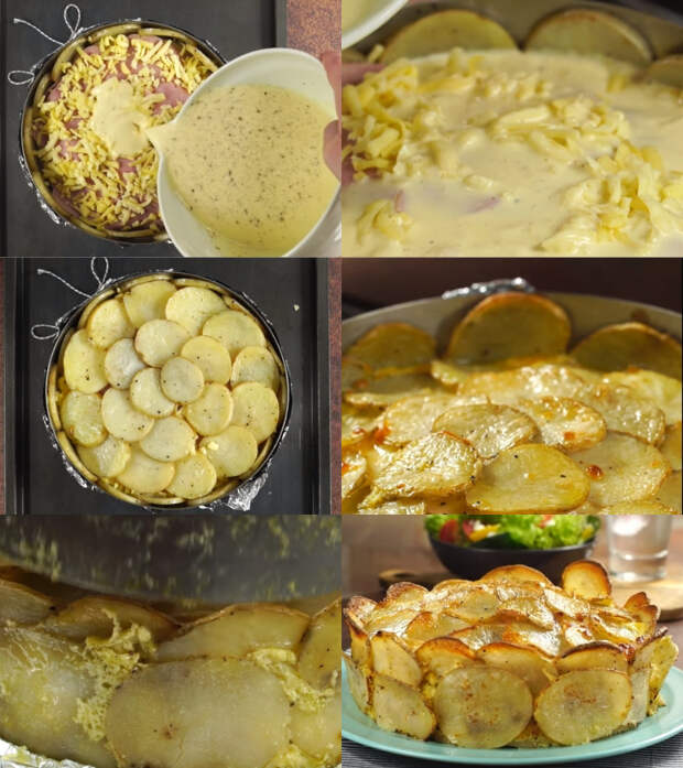 лучший рецепт запеченного картофеля