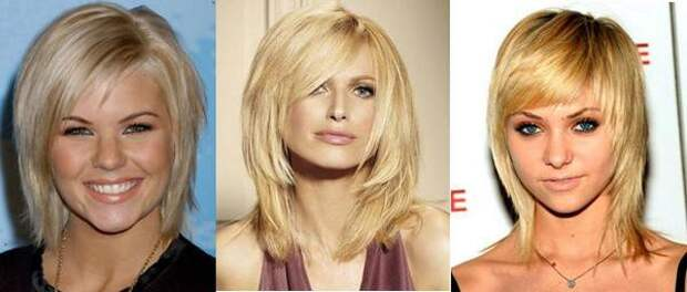 Стрижки на средние волосы 2015 - фото