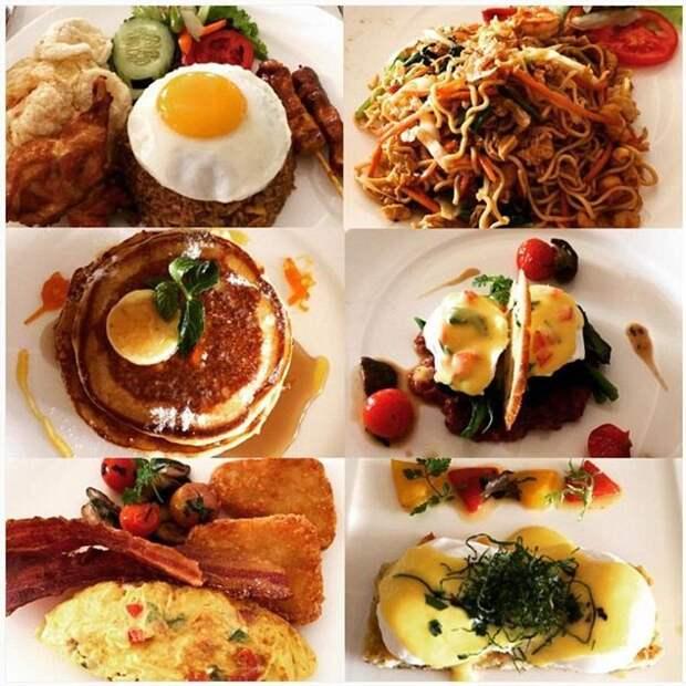 Завтраки в гостиницах