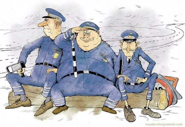 Бабки-инстаграмщицы и не только. Карикатуры Ольги Громовой