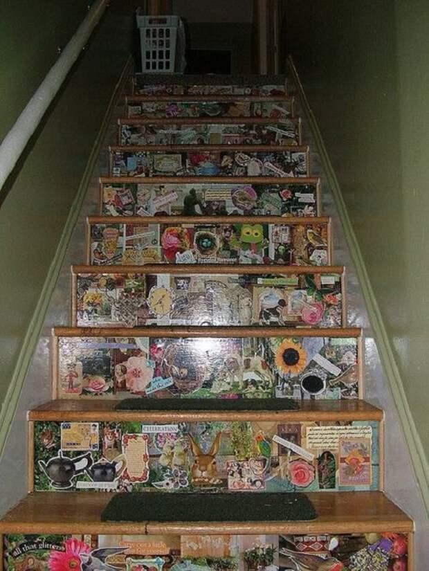 Комикс лестница