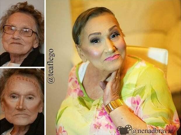 Glam-Ma - омолаживающий макияж