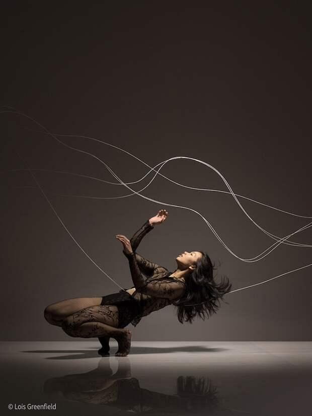 """Динамичные фотографии танцоров, """"застывших"""" в движении"""