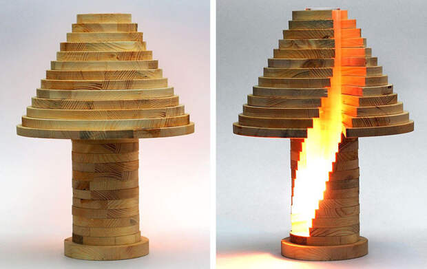 Оригинальная лампа своими руками, которая стоит в магазине 560 евро