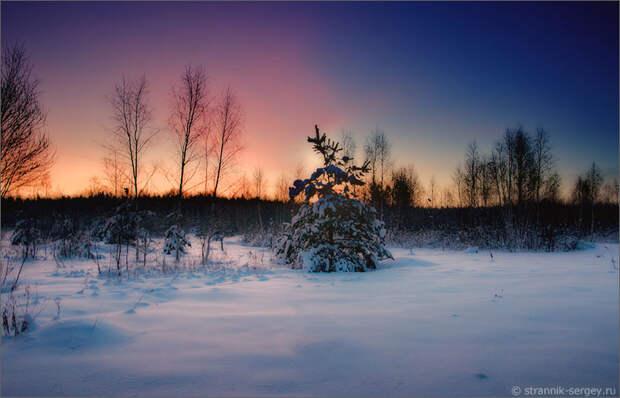 Новогодние открытки из Русской Зимы