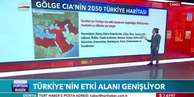Турецкий госканал показал сюжет о расширении влияния Анкары на Крым и Кубань