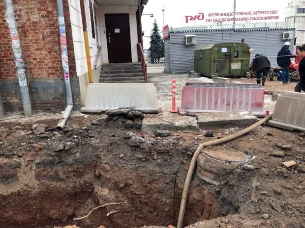 Специалисты «Ижводоканала» продолжают капитальный ремонт сети канализаций в городе