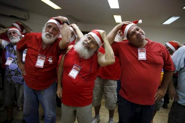 Школа для тех, кто быть Санта Клаусом