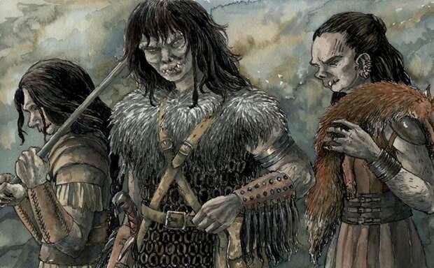 Куда Пропали Женщины Орки в Средиземье?