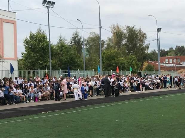 Митинг «Эхо бесланской печали» по погибшим в результате террористического акта в Беслане/Фото: управа района Северный