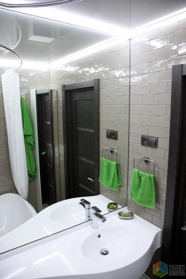Раковина в ванную, планировка ванной
