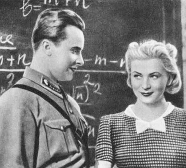 """Валентина Серова (Valentina Serova) - """"Сердца четырех"""" (1941)"""