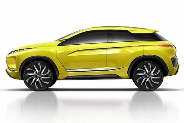 Кроссовер Mitsubishi eX Concept трансформирует реальность (ФОТО)