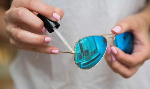 Как закрепить винтик на очках