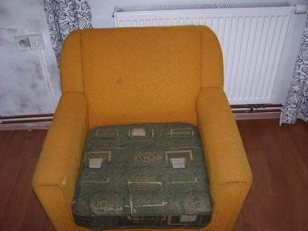 Как обновить старое кресло. Меняем обивку сами (11) (600x450, 111Kb)