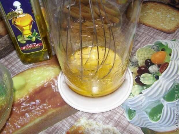 Камбала под лимоном