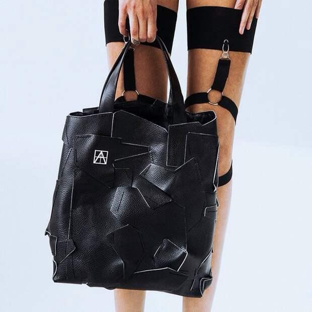 Крутейшая сумка из кусков