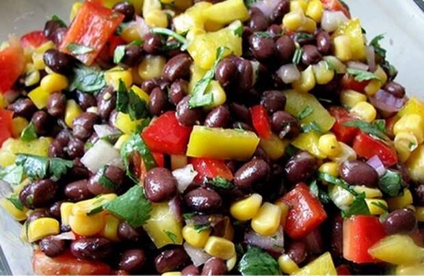 Рецепты вкусных, полезных и питательных салатов из красной консервированной фасоли