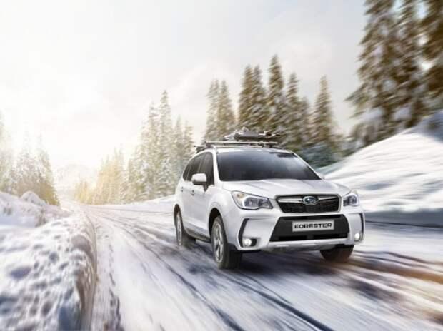 Subaru раскрыла дату начала продаж обновленного Forester