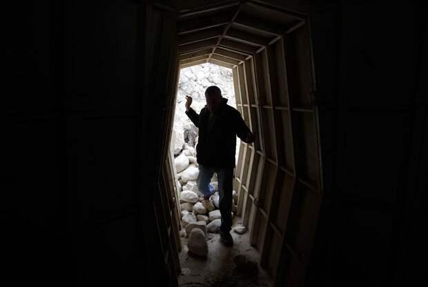 Стальной подземный бункер