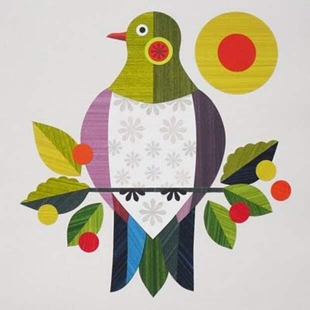 vintage bird - inspiration