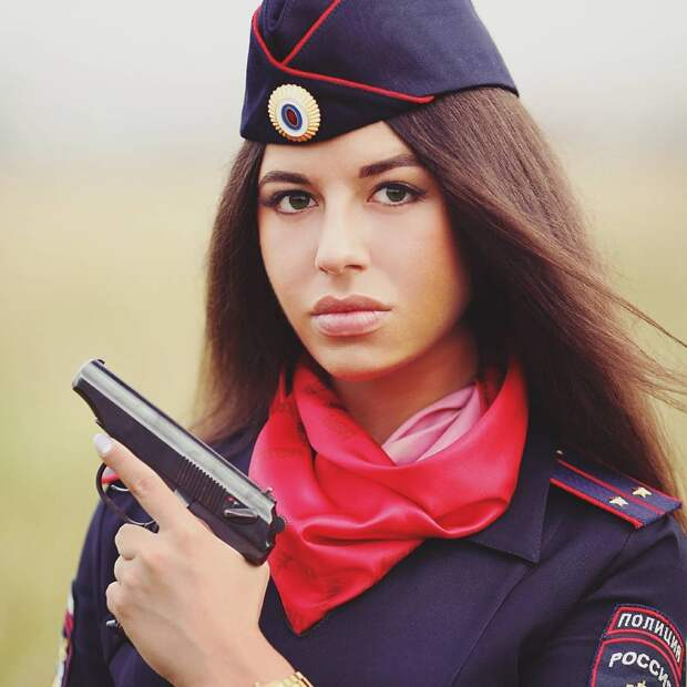 Российская полиция в снимках Instagram
