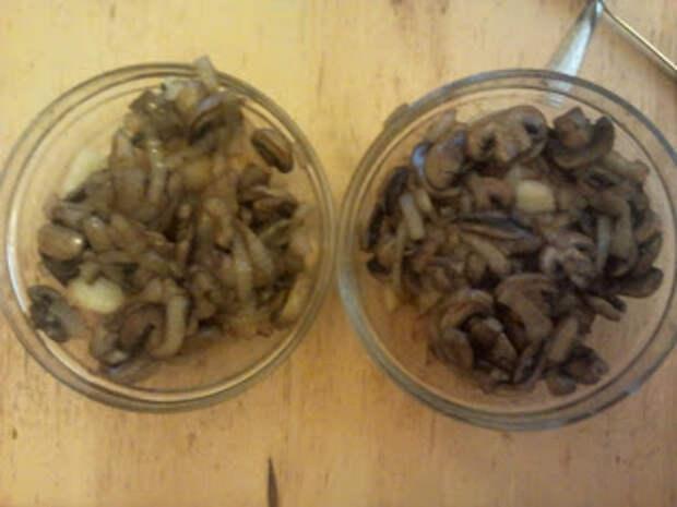 Жаренная картошка с грибами и луком