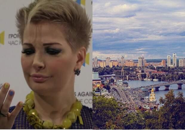 Максакова заявила о захвате группой неизвестных ее квартиры в Киеве