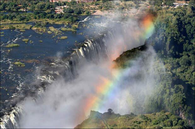 rainbow08 Радуга над самым большим водопадом в мире