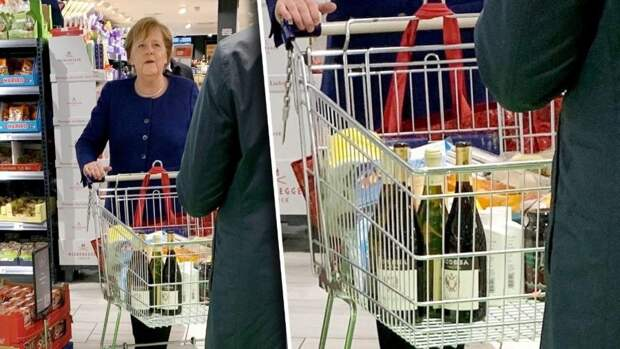 ⚡ Ангела Меркель отправилась на карантин