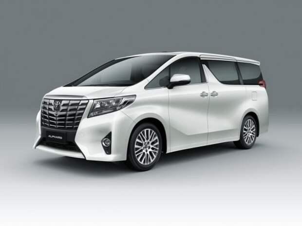 Toyota привезет в Россию минивэн Alphard нового поколения
