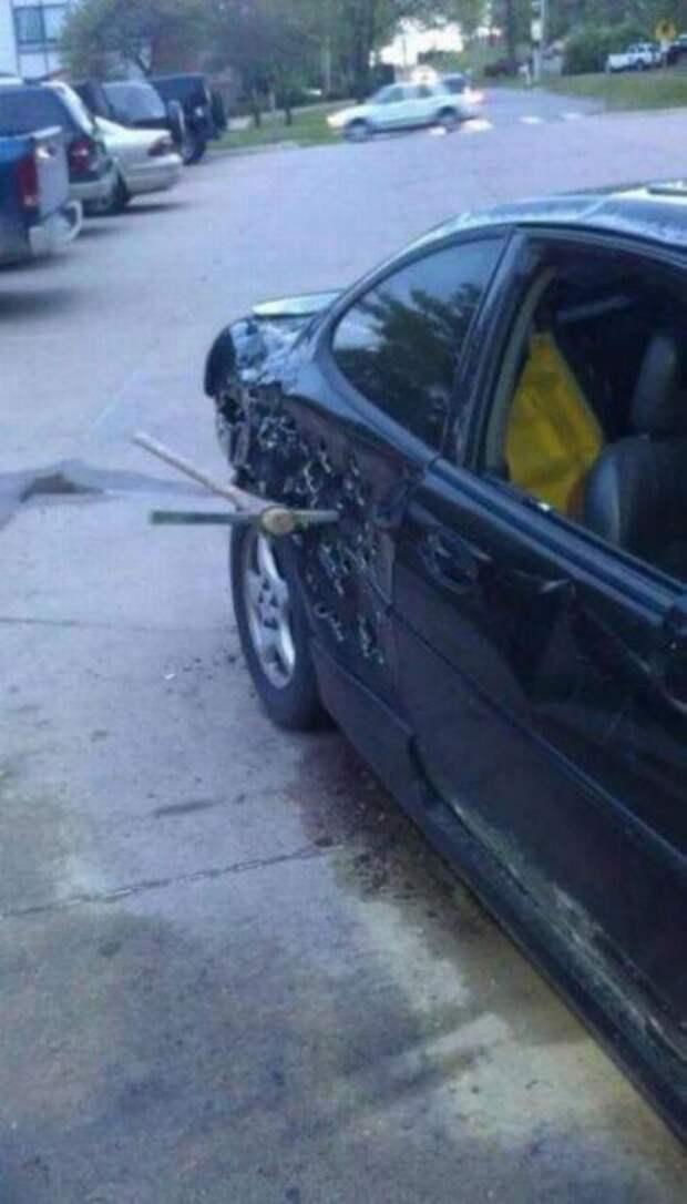 Месть, автомобиль,приколы, машины, смешное