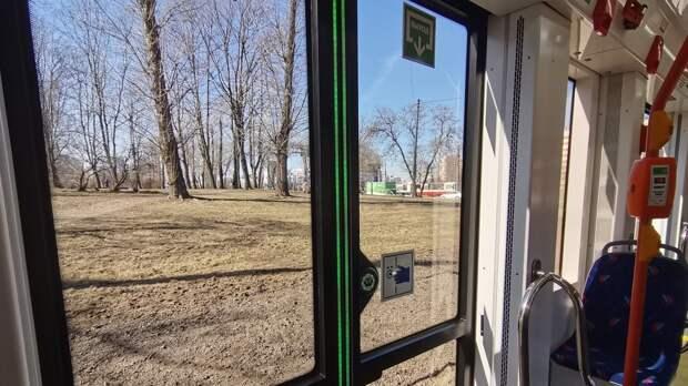 Два человека пострадали в аварии с трамваем в Курске