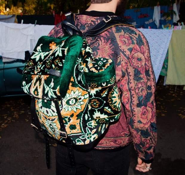 Рюкзак из ковра