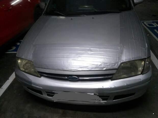 Автовсячина. Я починил! Автовсячина, авто, автомобиль, автоприкол, машина, прикол