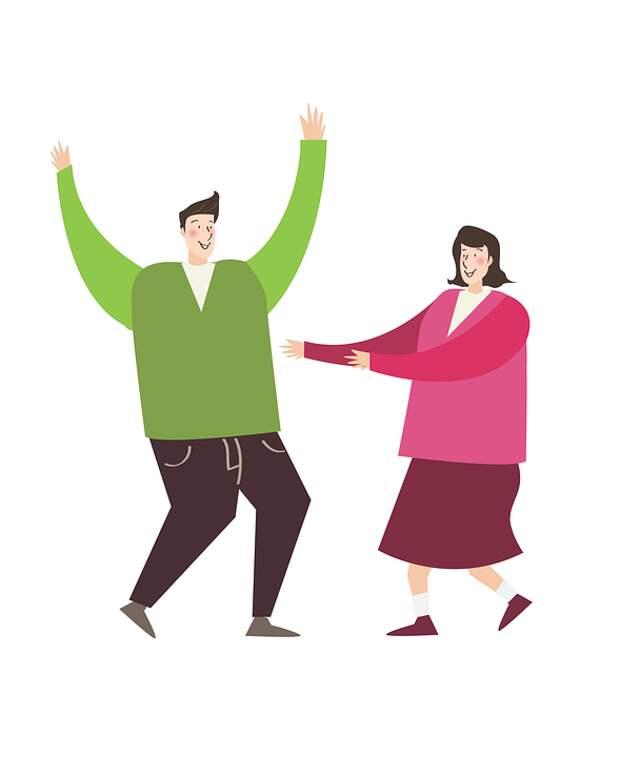 Человек, Женщины, Пара, Джой, Танцы, Танец, Развлечения
