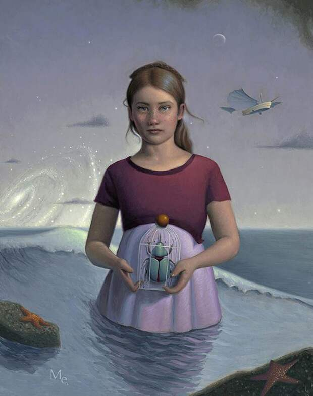 Красивые иллюстрации о мечтах девушек