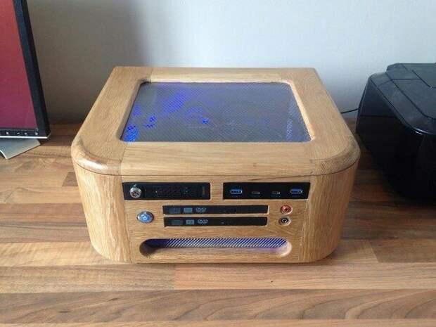 Компьютер из дерева