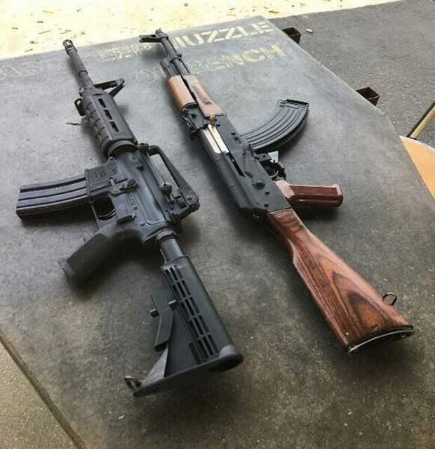 В чем разница между автоматом и штурмовой винтовкой