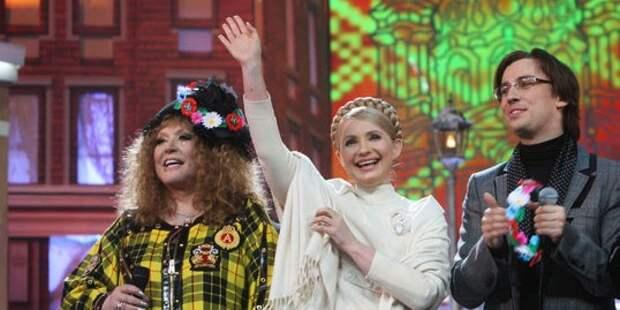 Алла Пугачева предложила Юлии Тимошенко спеть дуэтом