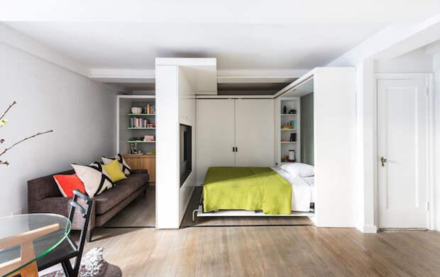 Дополнительная комната в однокомнатной квартире