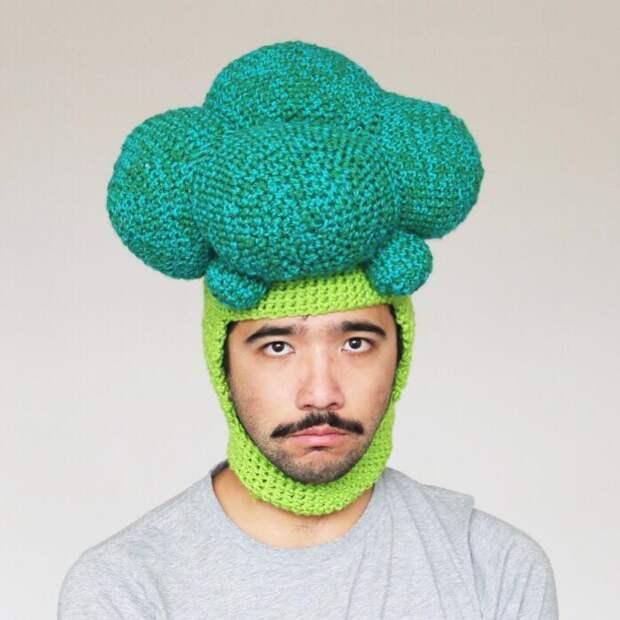 Вкусные головные уборы вяжет Phil Ferguson из Австралии