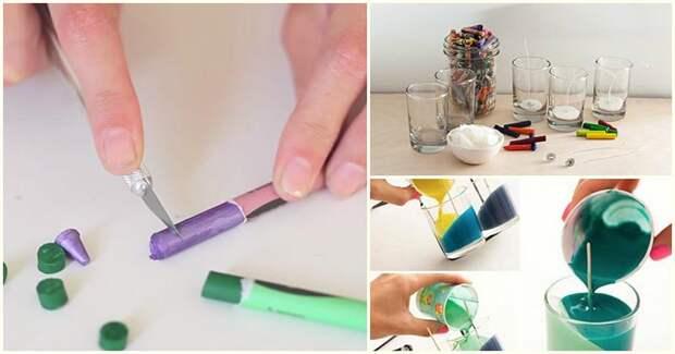 И никакой магии: украсьте интерьер с помощью обычных цветных мелков